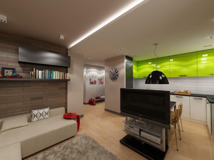 Ремонт новой четырехкомнатной квартиры
