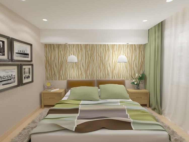 Бюджетный ремонт спальни