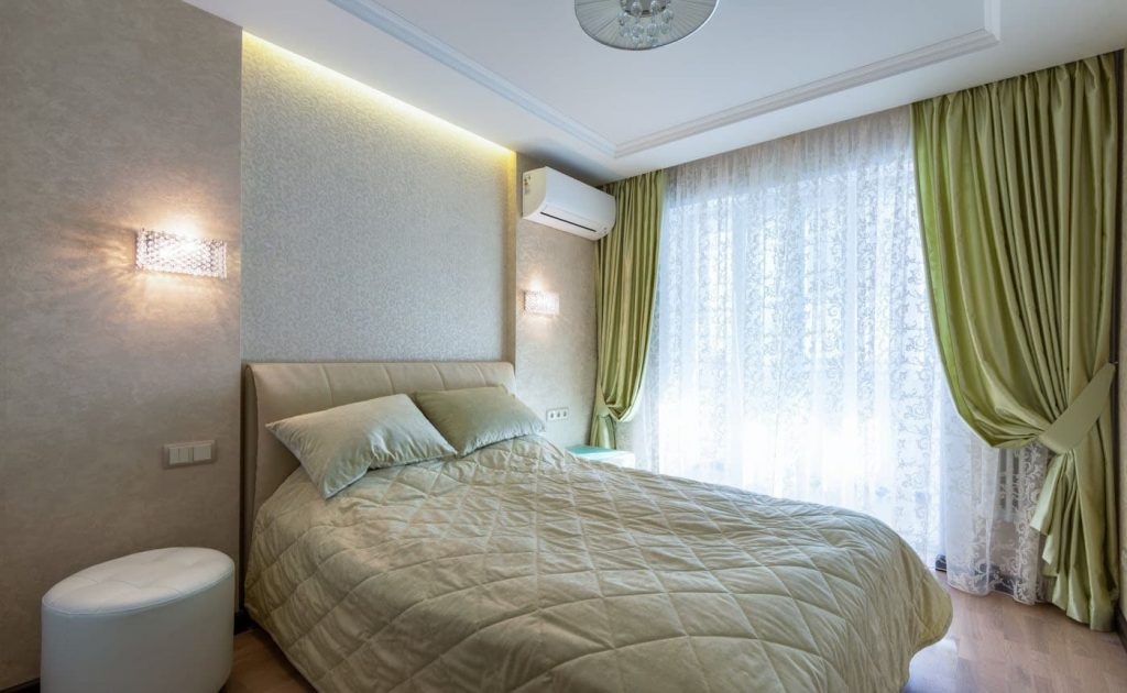Ремонт большой спальни