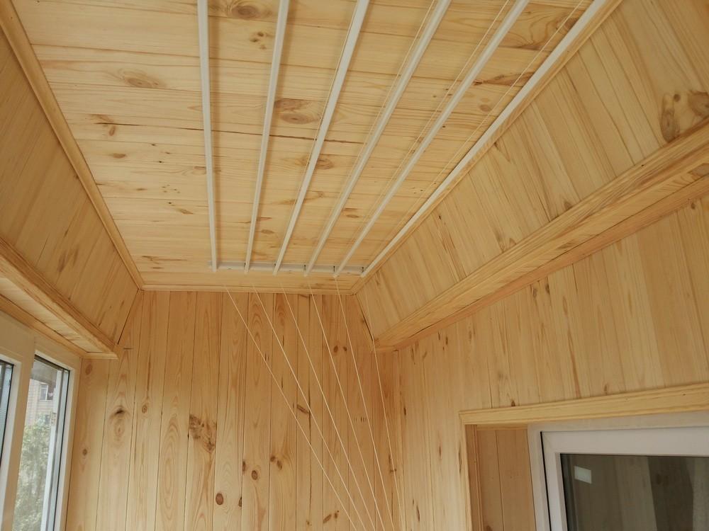 Балкон внутренний отделка ремонт