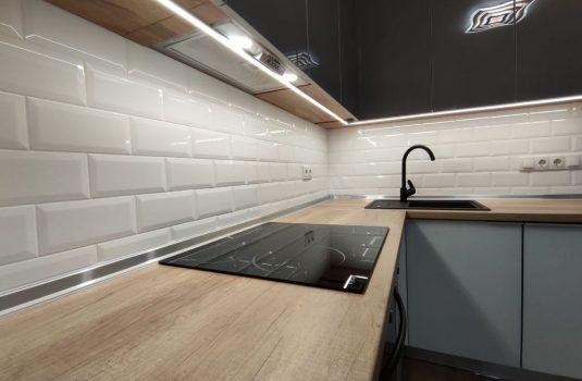 Кухня в квартире с капитальным ремонтом