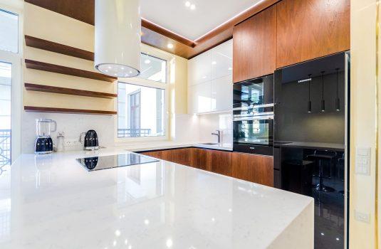 Ремонт в квартире кухня в светлых тонах